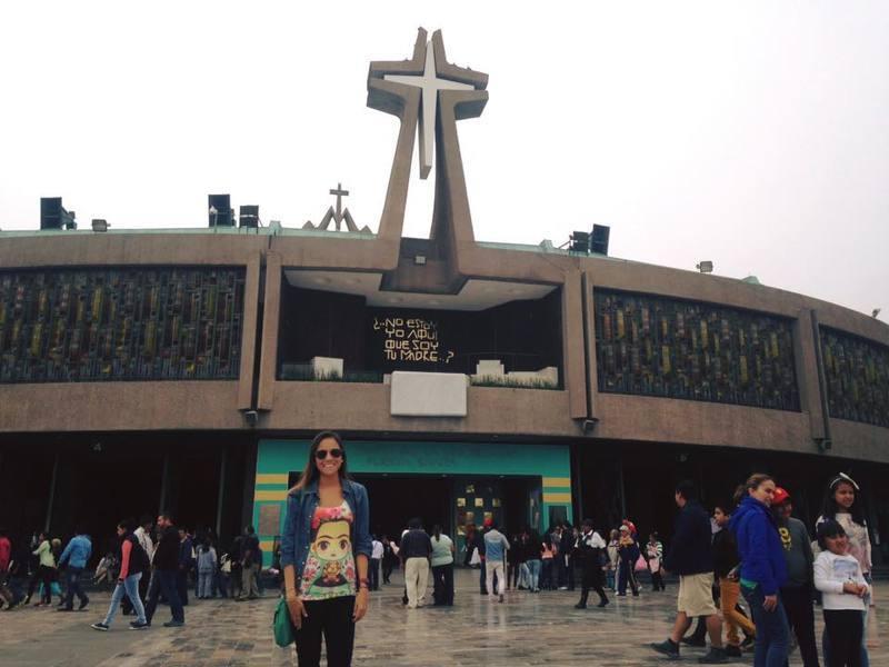 la basílica de la virgen de guadalupe