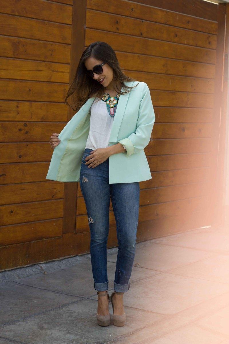 blazer verde