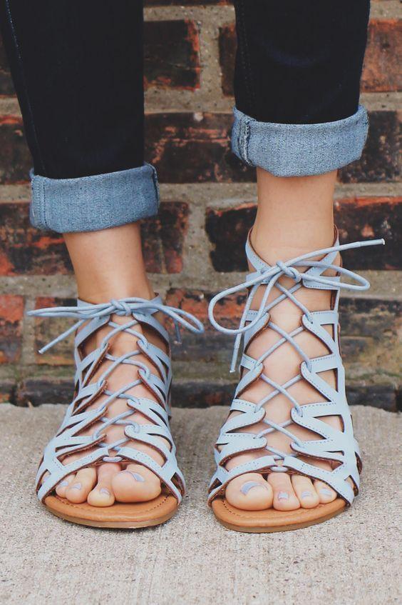 sandalias lace up9