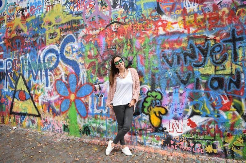 muro de lenon praga
